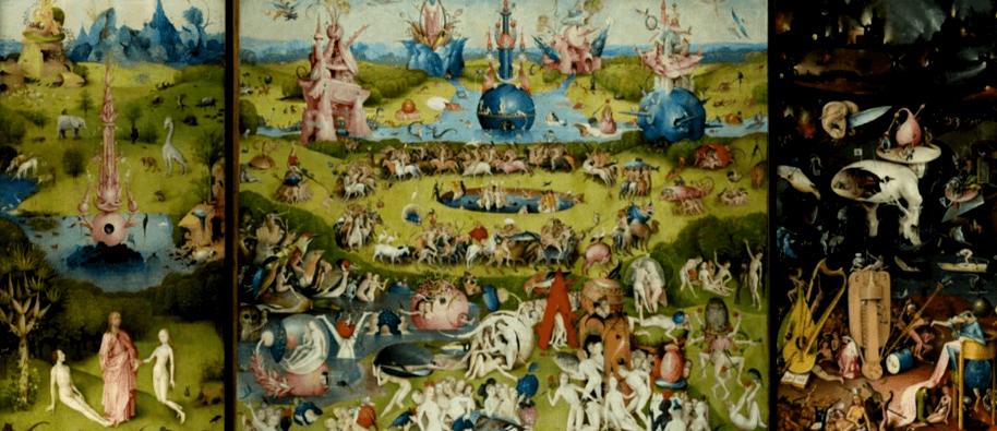 Zlo Bosh - Rajska zahrada rozkoši