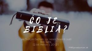 10. Čo je Biblia?
